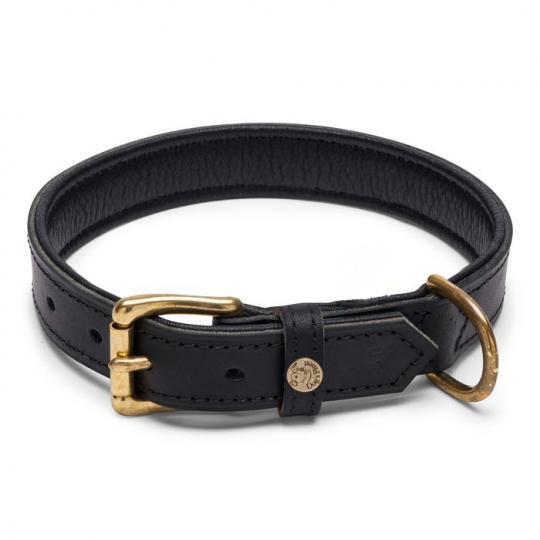 Hundehalsband Naturo schwarz
