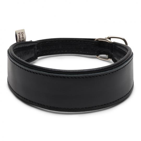 Windhundhalsband Simply Black