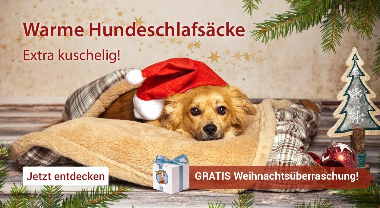 Banner Hundeschlafsack